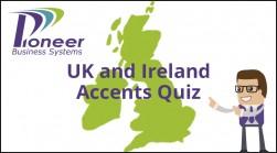 UK & Ireland Accents Quiz